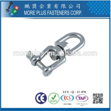 Made in Taiwan Eye and Jaw Swivel Mini Snap Shackle