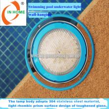 2016 12V 24W IP68 classificação Luz subaquática da piscina do diodo emissor de luz, piscina Luz do diodo emissor de luz