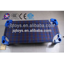 2016 kids plastic bed with plaid