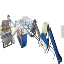 500kgh PE garrafa esmagamento e equipamentos de limpeza