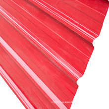 Hot Galvanized Color Coated Steel Corrugated Steel Roofing Sheet