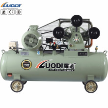 Big horsepower facotry use belt driven piston air compressor