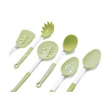 Edelstahl-Silikon-Küchen-Utensilien (SE-393)