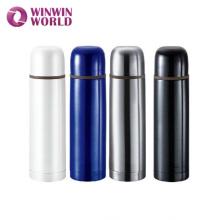 Garrafa de garrafa térmica por atacado elegante da forma da bala, garrafa de vácuo