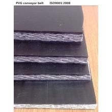 PVC ignifuge solides tissées bande transporteuse