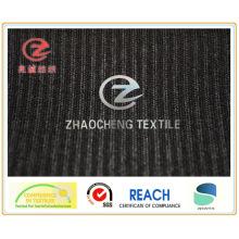 Tissu en velours côtelé à barres hautes et basses 16W N / P (ZCCF027)