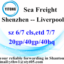 Shenzhen Gobal Freight Forwarding over zee naar Liverpool