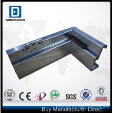 Fangda galvanizado hierro puerta marco aluminio no Normal