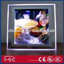 El cristal llevó luces de la calle caja de luz CA 220V
