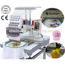 Touch screen computer machine embroidery tablecloth for cap flat t-shirt gloves shoes
