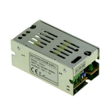 Alimentatore switching CCTV 12V 1A