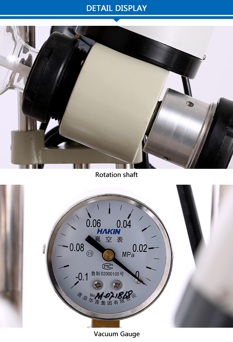 Teflon Pan Series Industrial Thermal Rotary Evaporator