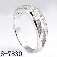 Fashion Jewelry 925 Silver Jewelry with Zirconia Women Ring (S-7830)