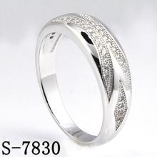 Moda jóias 925 jóias de prata com zircônia anel mulheres (s-7830)