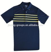 Hot selling custom cotton mens golf apparel.OEM orders are welcome.