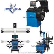 G781 3d automatic catch alignment machine with tire changer wheel balancer car lift