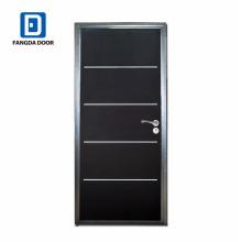 Fournisseur de portes Fangda, porte intérieure en acier américain