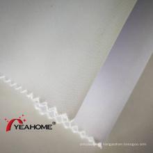 Bannière flexible en tissu de boîte à lampe en polyester à rayures
