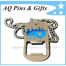 Alloy Dog Tag with Opener