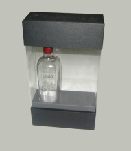 clear printed plastic box for wine packaging from Ningbo Yuteng Packaging and Products Manufacturer