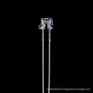 Fabrik Förderung 4,8 mm gelb Strohhut LED-Diode