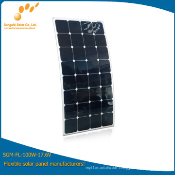 OEM Flexible Solar Panel Prices 120W --- Factory Direct Sale