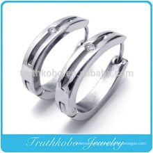 TKB-E0052 Stainless Steel Gold Plated Handcuff Stud Earrings