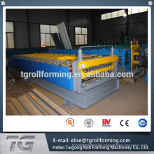 double layer wall and roof roll forming machine aluminum panel rolling machine