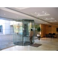 Glass Revolving Doors with Advanced Safety Functions