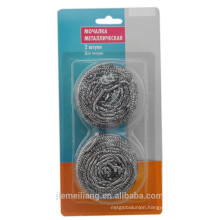 New Item on market stainless steel ball scourer cleaning mesh ball scourer