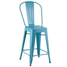 Tolix Bar Cafe Kitchen Cafe High Back Chair