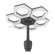 100W parking lot lights solar led