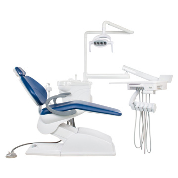Top chair mounted dental unit