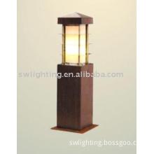 Outdoor Wooden Lamp