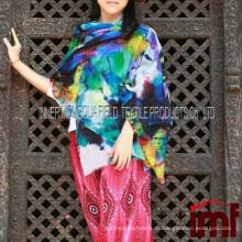 Primavera Verão 2015 Lady Elite Moda Pashmina Shawl Fabricantes Kashmir lã Xaile