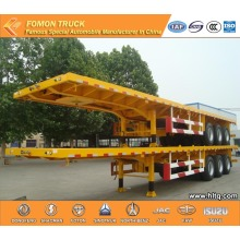 3 axles Flat semi trailer 60000kg