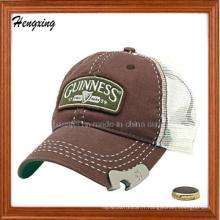 Chapeaux de maille d'ouvreur de bouteille Casquette de sport de chapeau de baseball