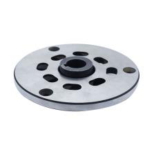 casting steel alloys 6 hole flange wheel