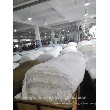 Tecido tingido de peru suave e confortável 110 gsm