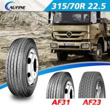 Pneu Aufine Heavy Duty pneus para caminhão com ponto