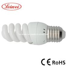 T3 9W, 11W, 13W Mini espiral completo luz ahorro de energía