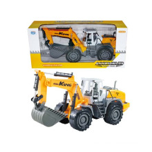 Wholesale Kids Plastic Friction Excavator Toy Car (10221775)