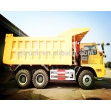 10 ruedas 70T Sinotruk HOWO camión volquete / HOWO camión minero / 70T HOWO camión minero / 70T HOWO camión volquete