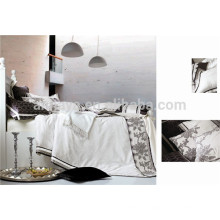 Jacquard de lujo de edredón oriental cubierta de ropa de cama con cremallera Made in China