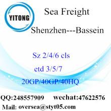 Shenzhen Port Sea Freight Frakt till Bassein