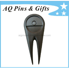 High Quality Golf Divot Tool in Pearl Plating (Golf-11)