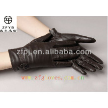 Lady sheep Leather Glove Thinsulate Lined For Winter
