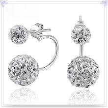 Jóias de moda brinco de cristal 925 jóias de prata esterlina (se112)