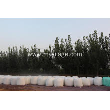 China supplier OEM for Haylage Silage Wrap UV Stabilized White Plastic silage bunker covering export to Portugal Supplier