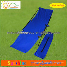 2015 hot sell folding beach bed with 210D carrying bag